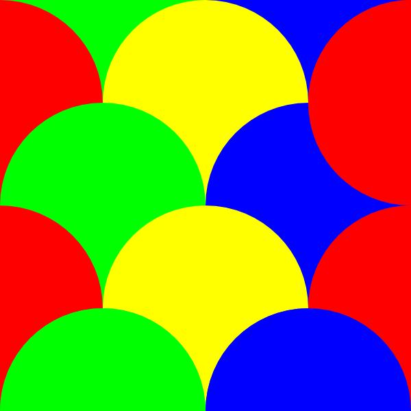 600x600 Circles 4 Pattern Clip Art