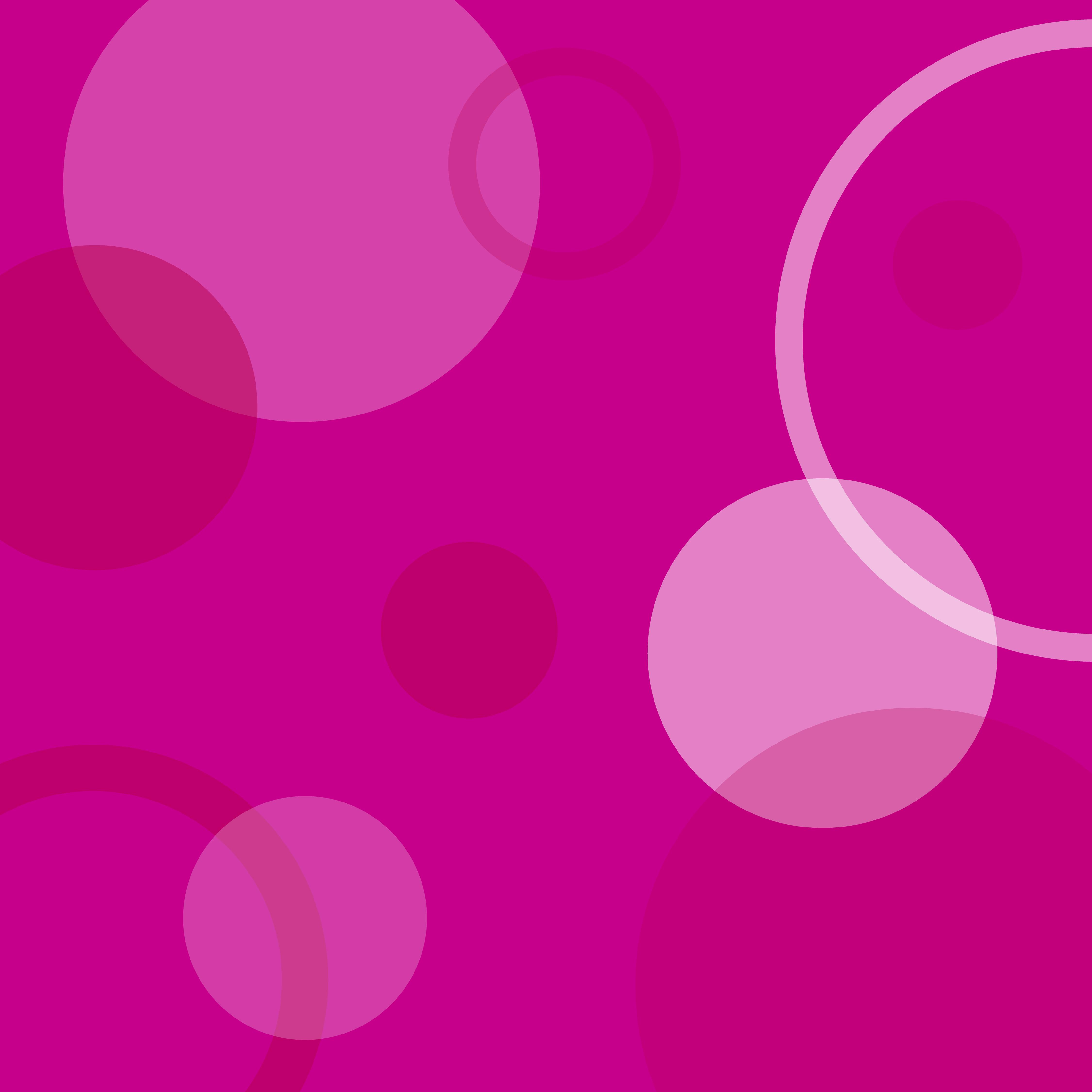 4500x4500 Circles Pattern Pink White Clip Art