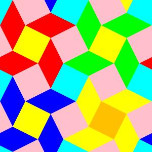 300x300 Diamond Squares 4 Filled Pattern Clip Art