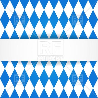 400x400 Oktoberfest Background With Bavarian Flag Pattern Royalty Free