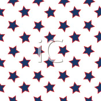 350x350 Stars Pattern Background