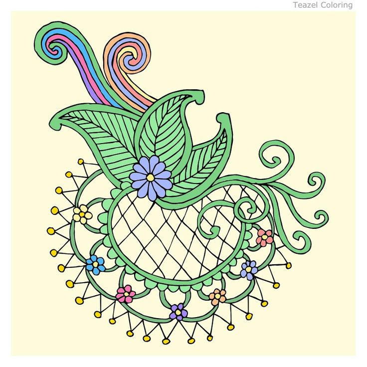 Pattern Colouring Pages To Print