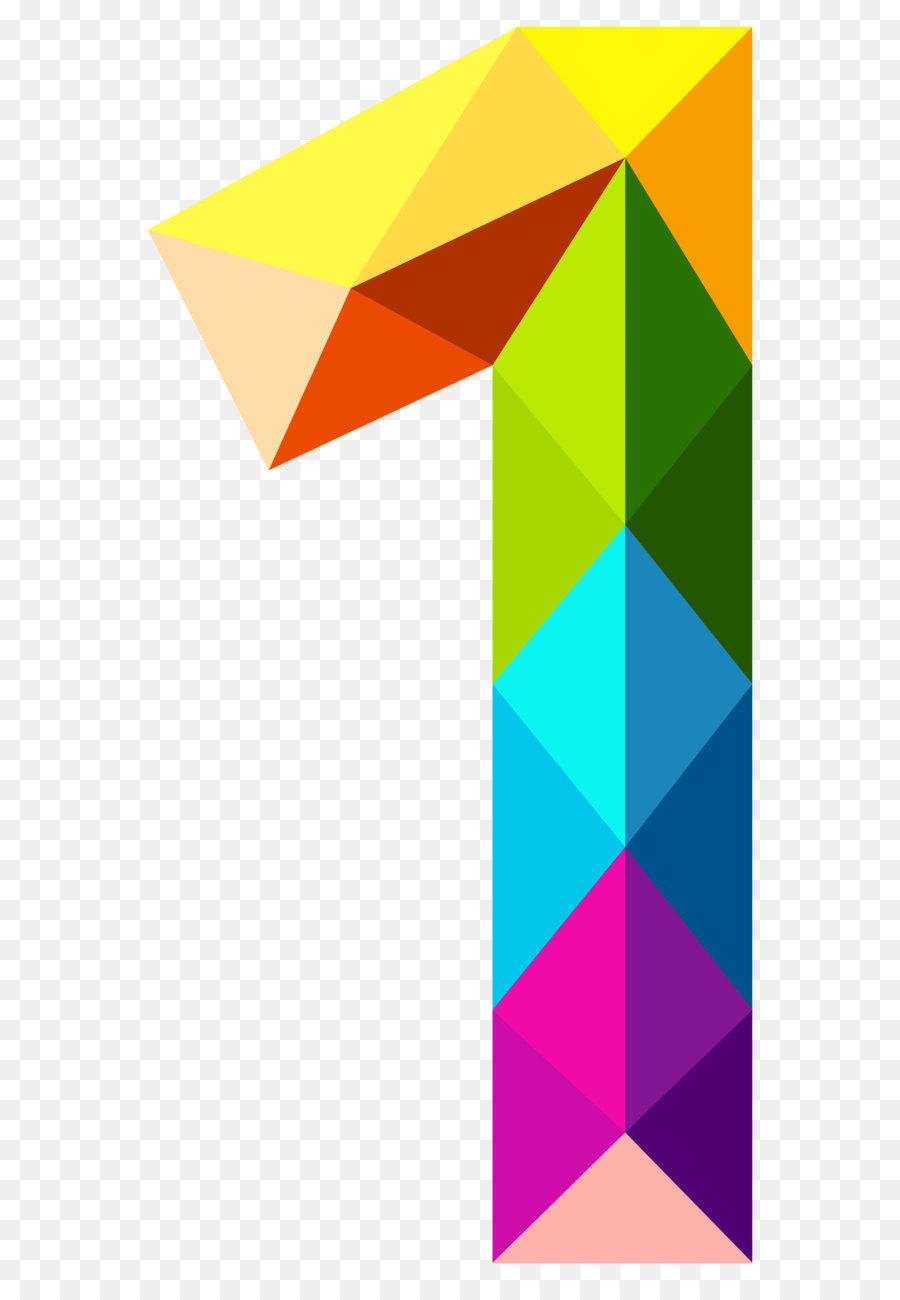 900x1300 Number Color Clip Art