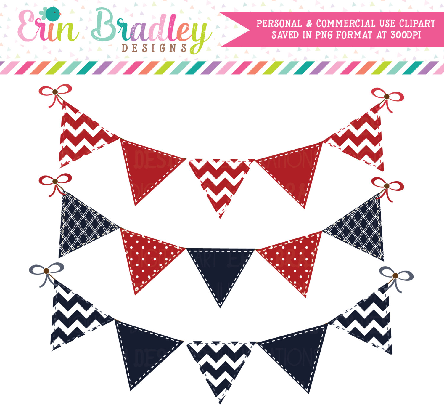1500x1391 Red White And Blue Bunting Clipart Clip Art Banner Flags Personal