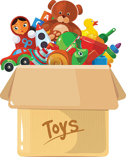 493x612 Collection Of Pile Of Toys Clipart High Quality, Free