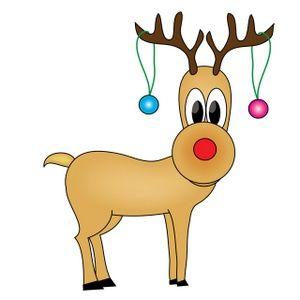 300x300 Free Holiday Clip Art Reindeer Clip Art Images Reindeer Stock