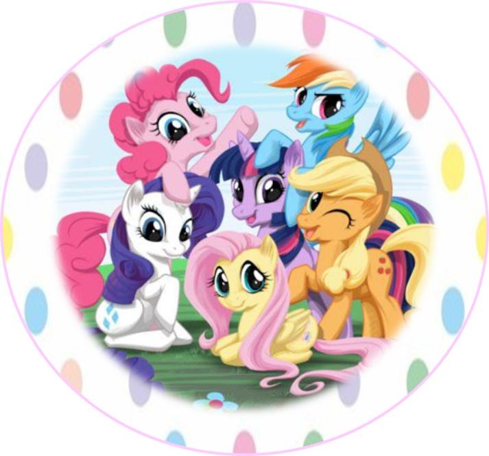 713x665 My Little Pony Clipart Happy Birthday 3733453