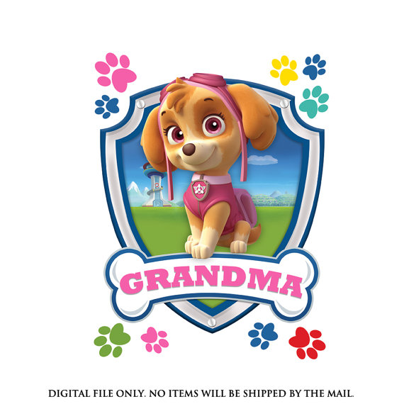 570x570 Puppy Clipart Grandma