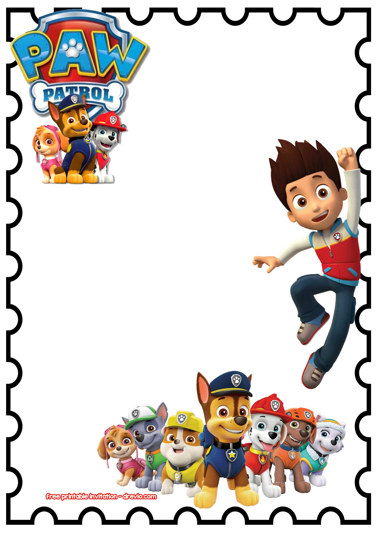 image relating to Paw Patrol Printable Birthday called Paw Patrol Birthday Clipart at  Absolutely free for