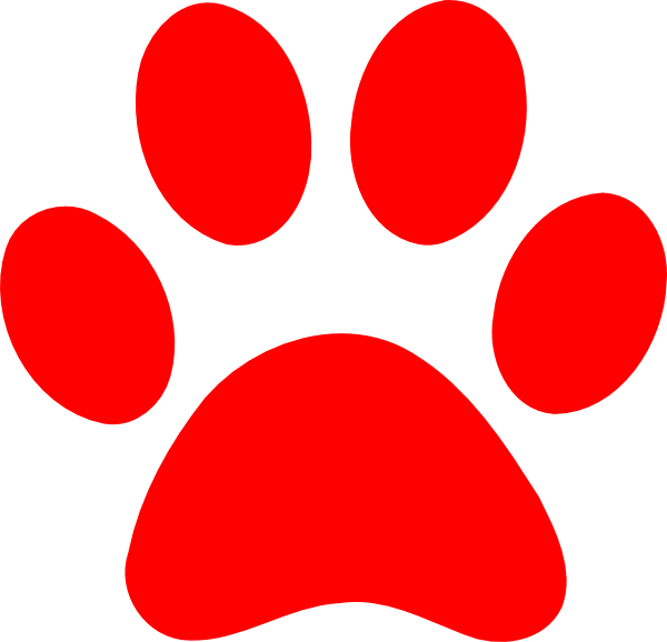 600x578 Paw Print Images Paw Print Clip Art