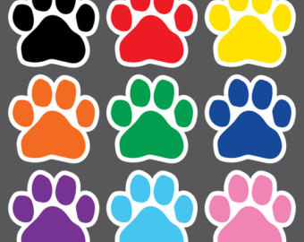 image regarding Printable Paw Prints identify Paw Print Clipart at  Free of charge for particular person retain the services of