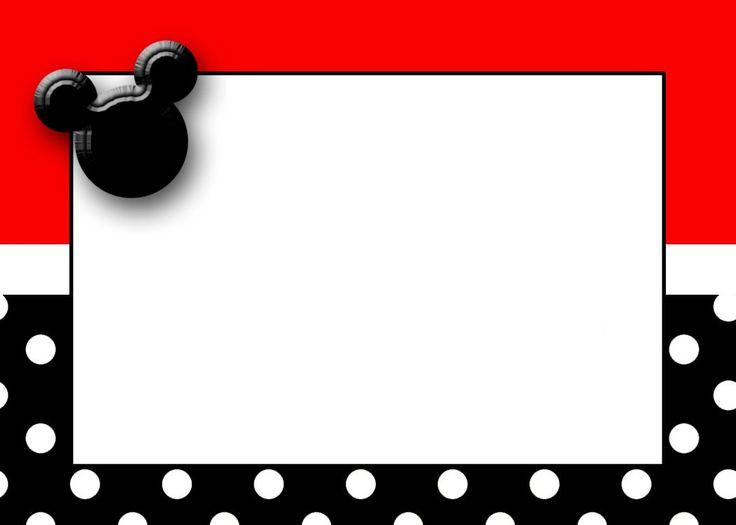 736x525 Beautiful Paw Print Border Clip Art Mickey Mouse 1st Birthday Card