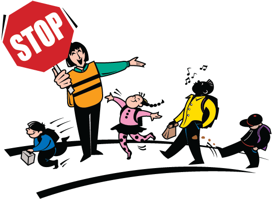 548x399 Crossing Guard And Children Clipart The Arts Image Pbs
