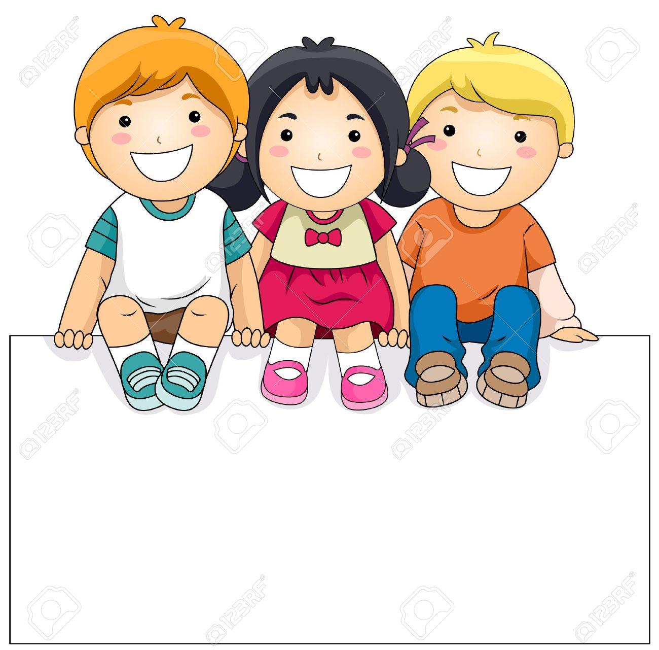 1300x1281 Nice Decoration Children Clip Art Happy Kid Cartoon Clipart