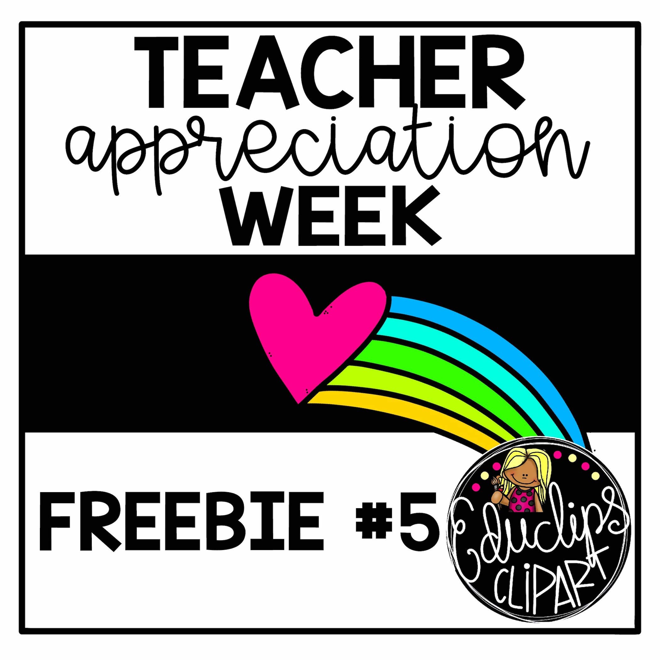 2100x2100 Teacher Appreciation Clip Art For The Pe I Did Words Like