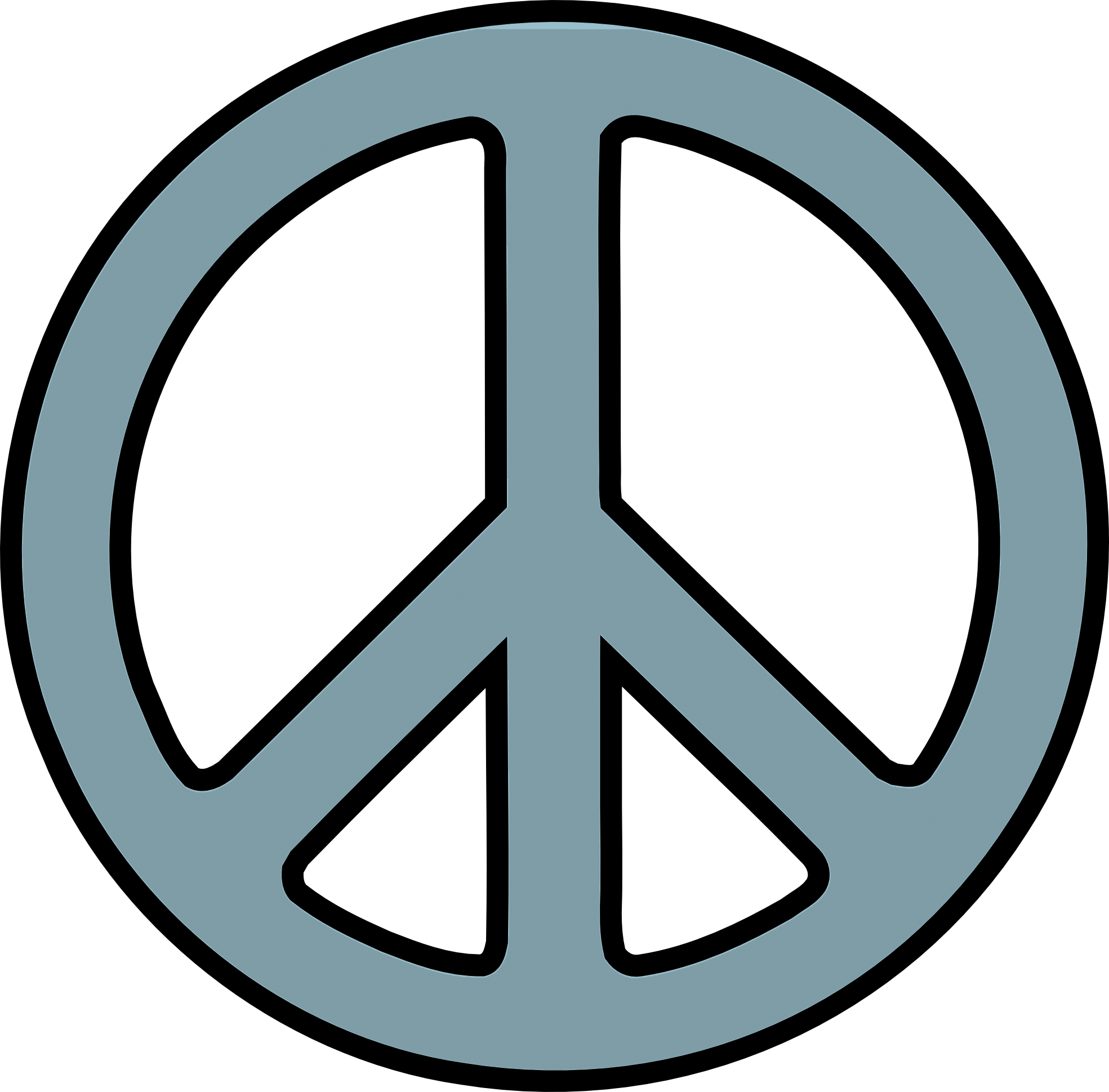 1969x1939 Santa Peace Cliparts 253527