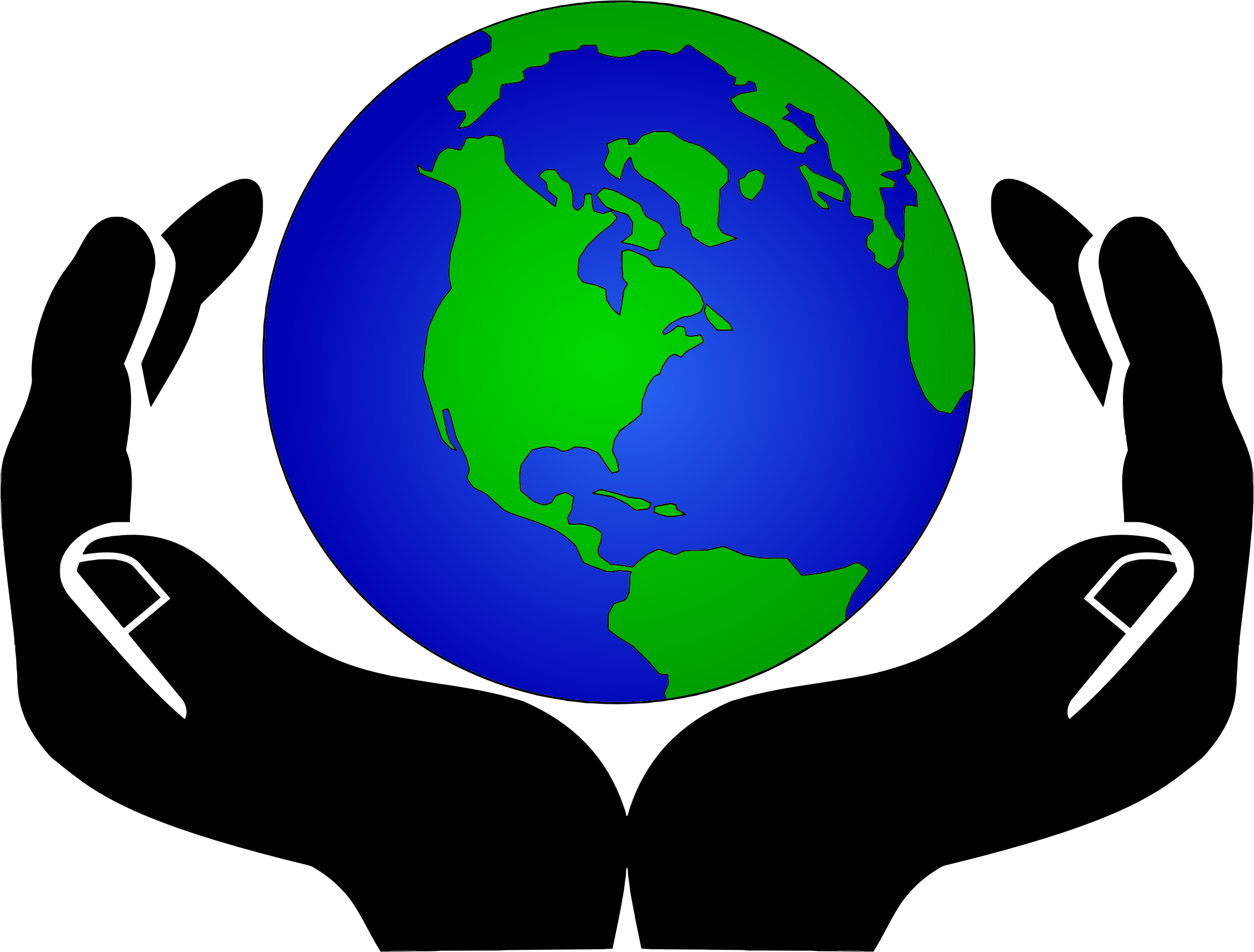 2268x1722 Clip Art Of The World Clipartlook