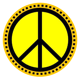 320x322 Love And Peace In Color Free Clip Art