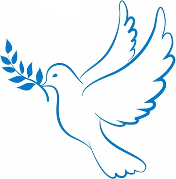 362x368 Collection Of Pigeon Peace Clipart High Quality, Free