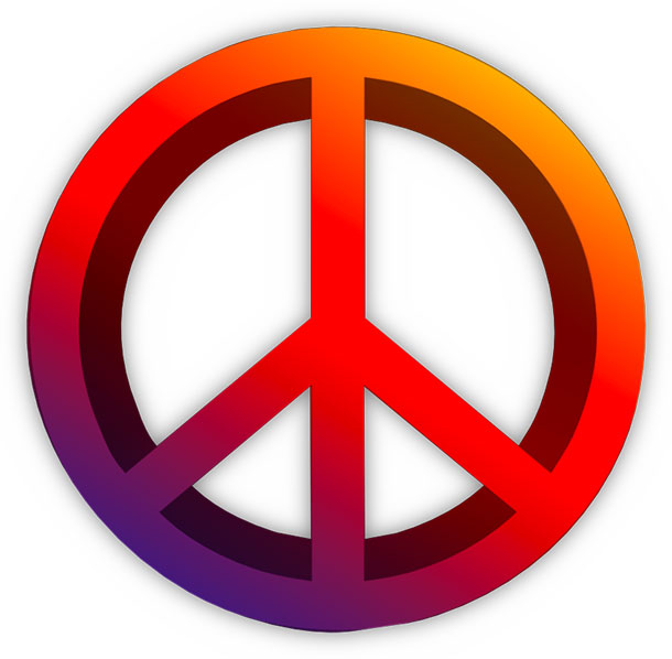 610x598 Peace Sign Free Peace Animations Clipart S