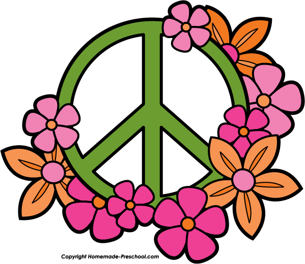 599x520 Think Peace Free Clipart Doodles Clip Art Free