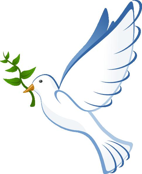486x596 Dove Of Peace Clip Art