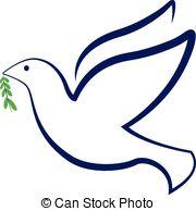 180x194 Dove Peace Vector Logo. Dove Peace Symbol Vector Logo Vectors