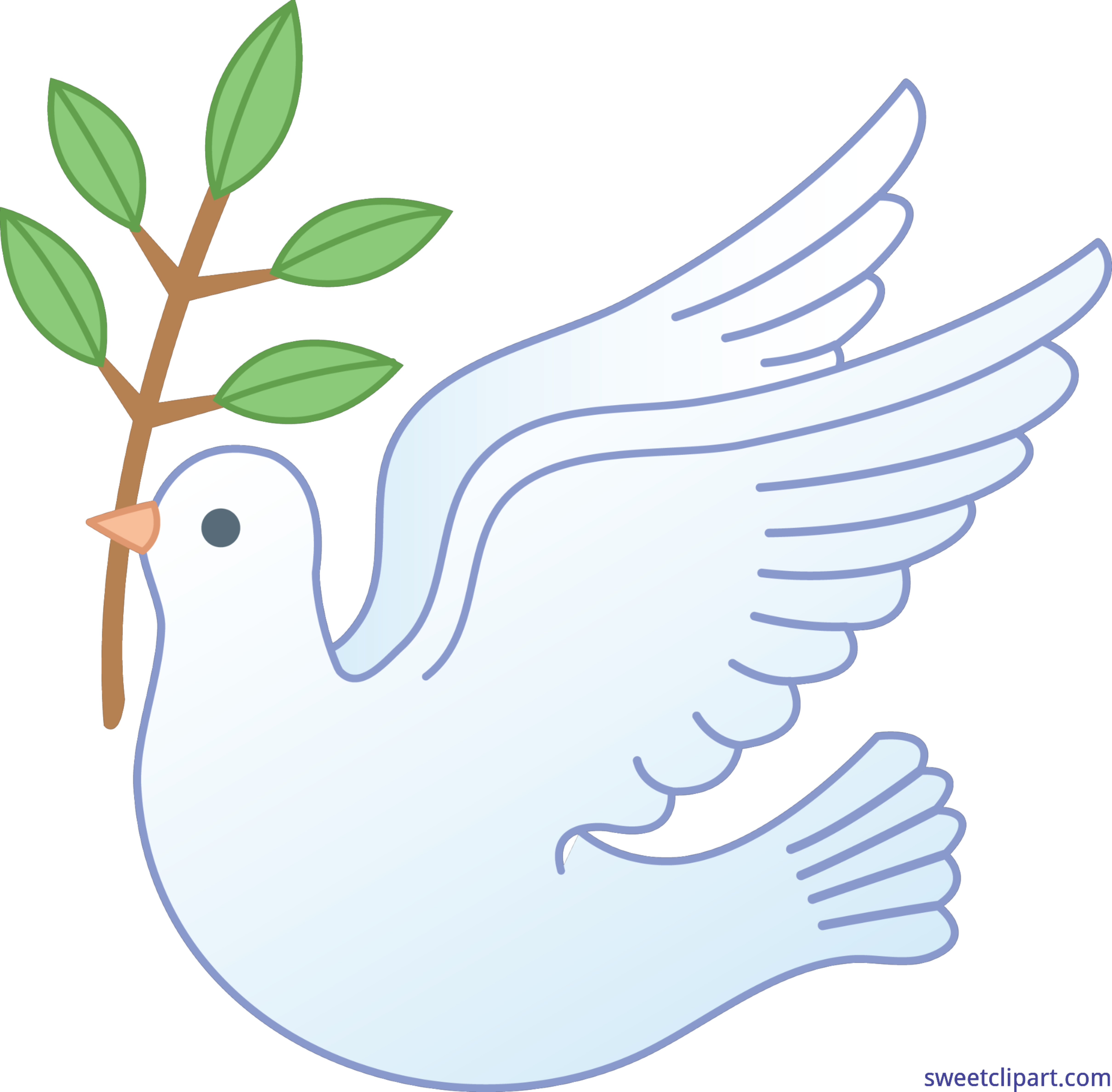 4839x4754 Peace Dove Clip Art