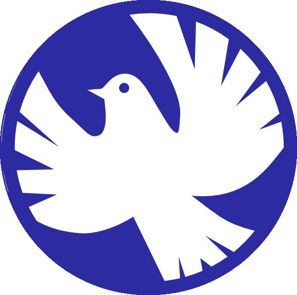 600x597 Peace Dove Clipart