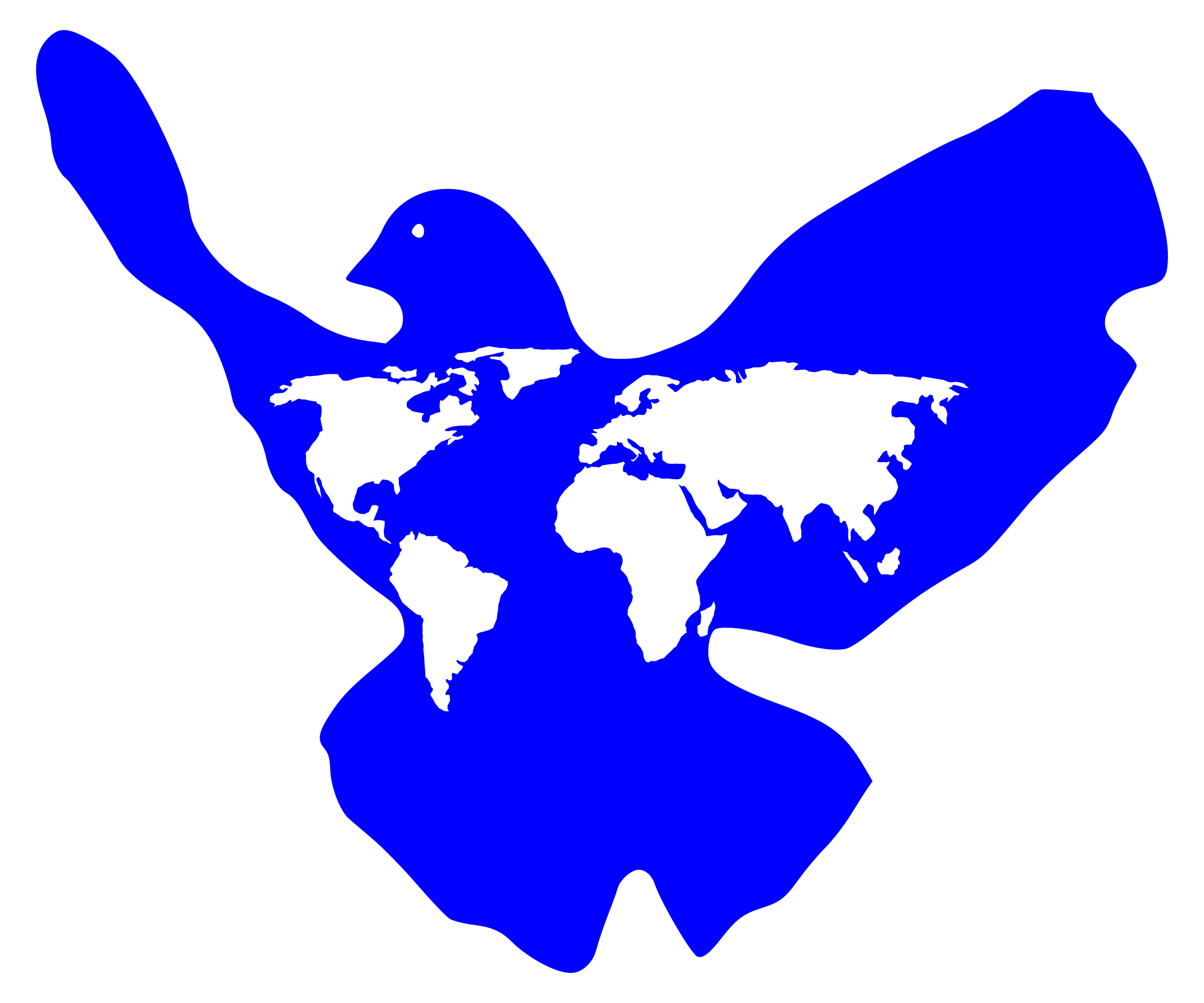 2400x1999 World Peace Dove Icons Png