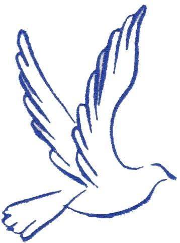 358x482 Blue Peace Dove Clip Art Clipart Panda
