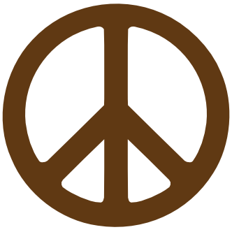 332x332 Clip Art Peace Symbol 1 Base Fav Wall Paper