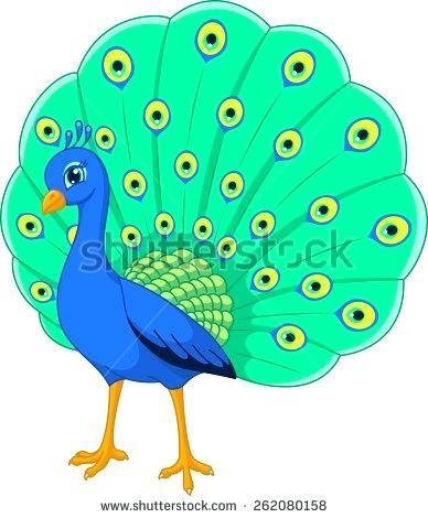 388x470 Cartoon Peacock Clip Art Cartoon Peacock Animal Cartoon Peacock