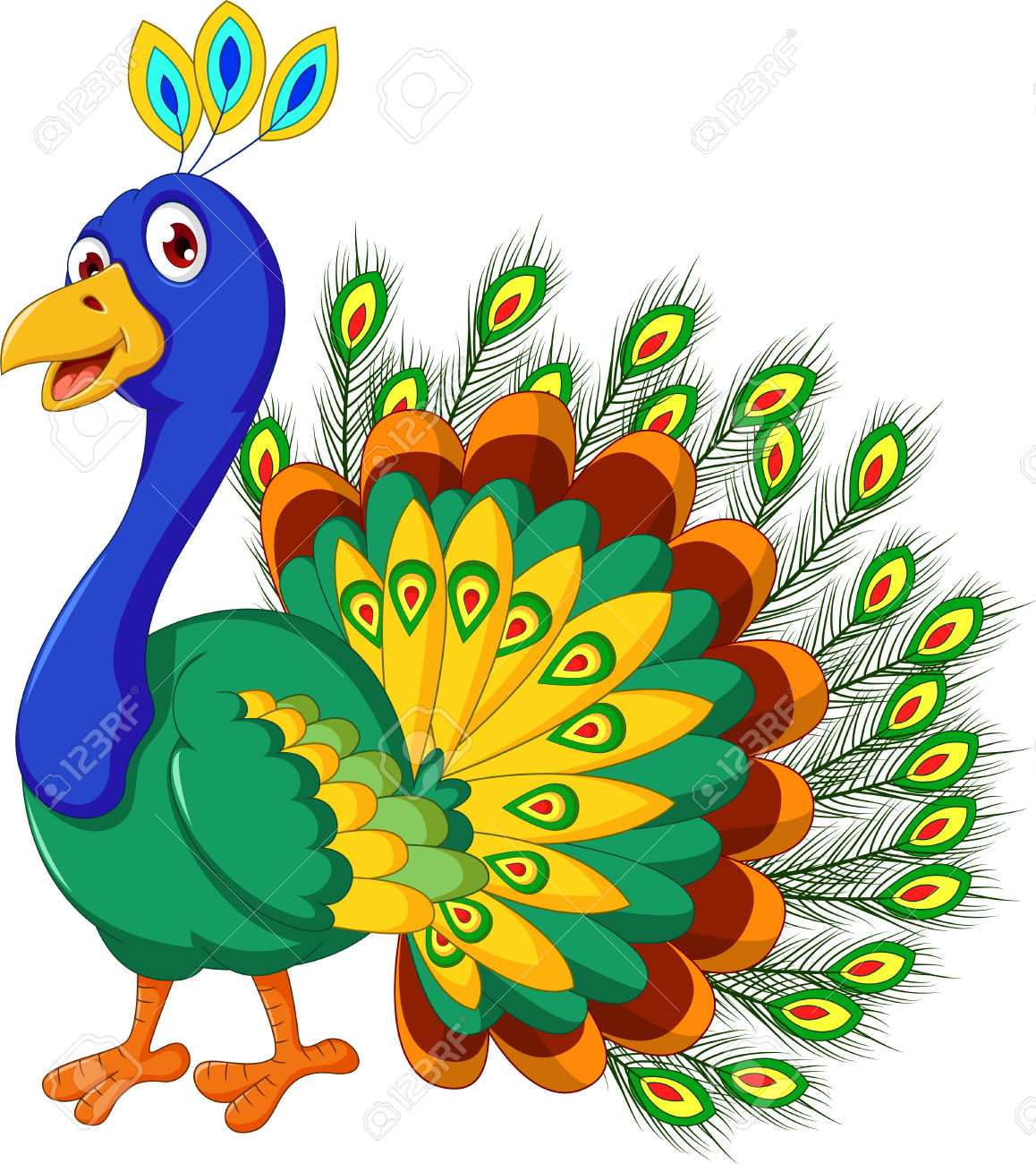 1158x1300 Peacock Clipart Cute Pencil And In Color Peacock Clipart Peacock