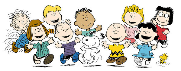 599x236 Charlie Brown Spring Clipart