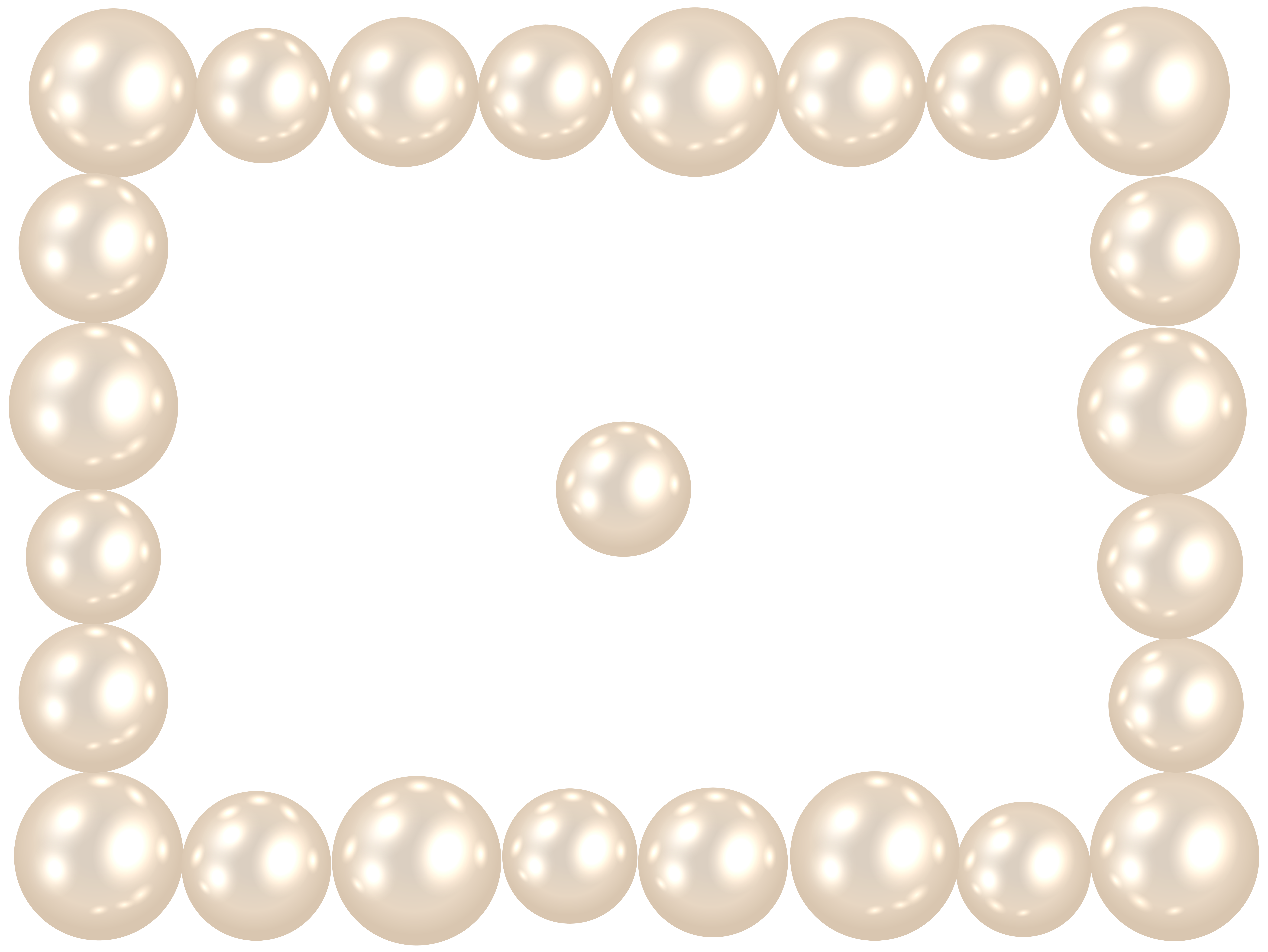 8000x6006 Pearl Frame Png Clip Art Imageu200b Gallery Yopriceville