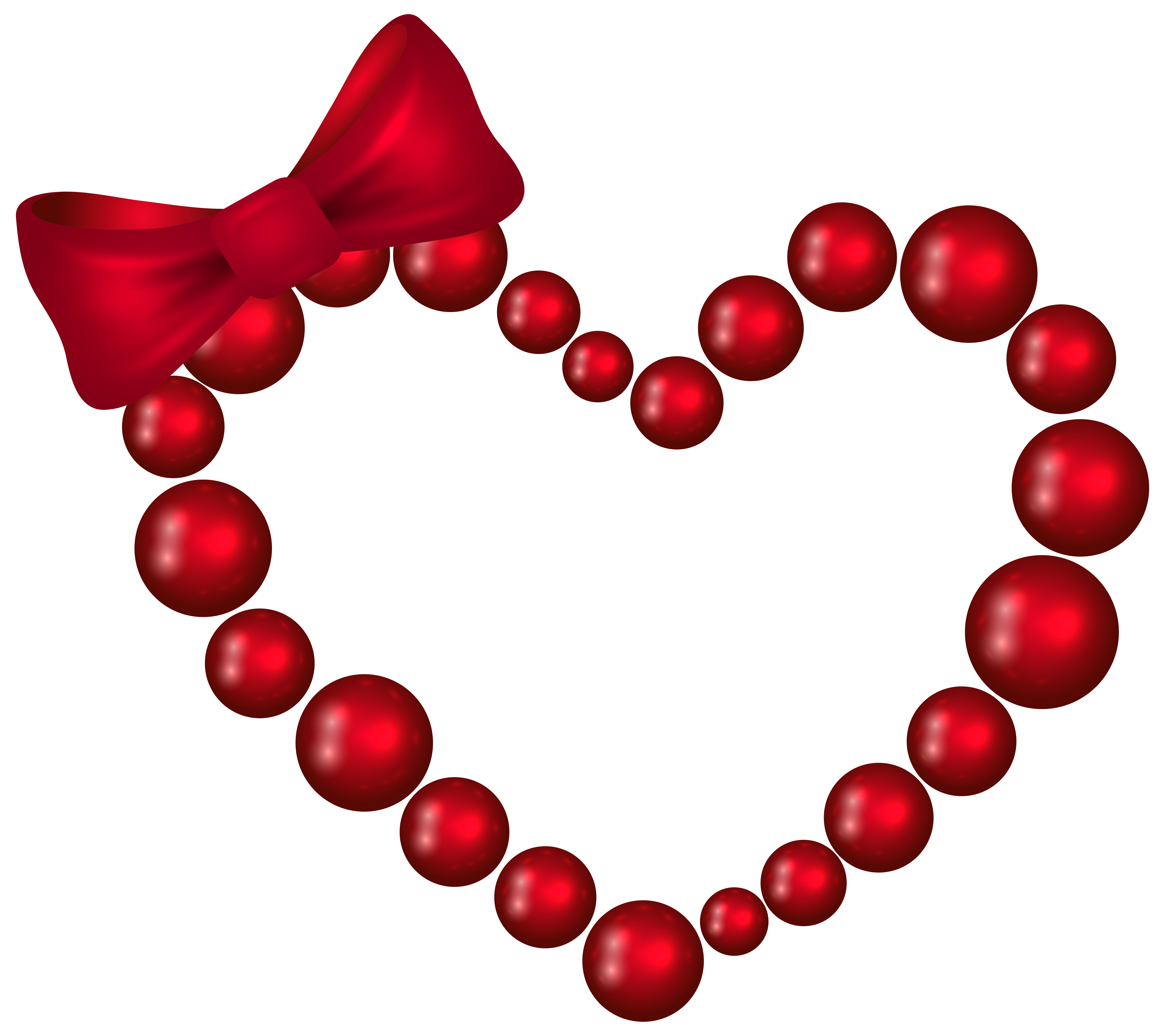 8000x7114 Red Heart With Bow Transparent Png Clip Art Imageu200b Gallery