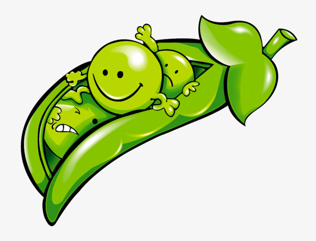 650x497 Cartoon Peas, Cartoon, Pea, Green Png Image And Clipart For Free