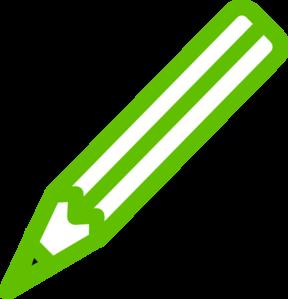 288x299 Green Pencil Clip Art