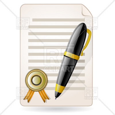 400x400 Agreement And Pen