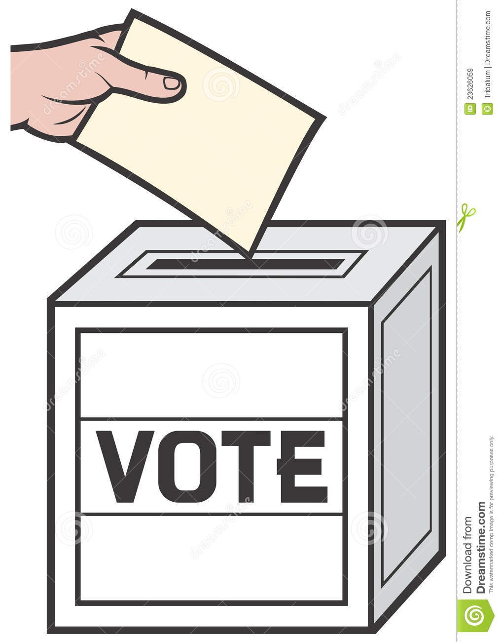 1016x1300 Clipart Of Ballot Box Voting Clip Art Image