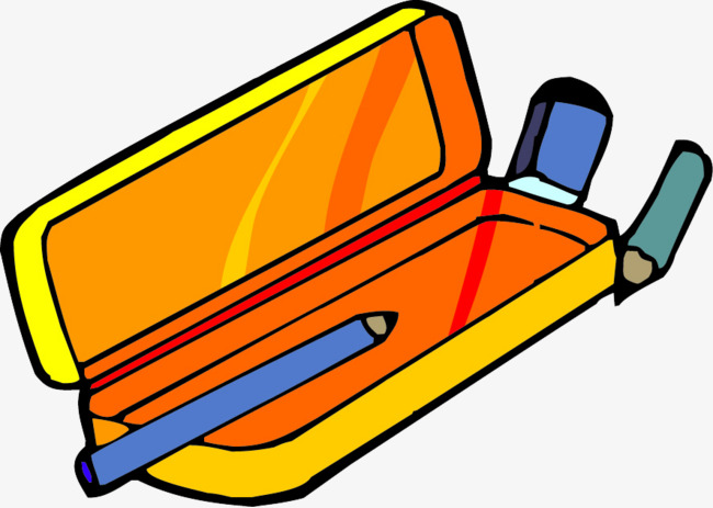 650x463 A Pencil Case, Stationery, Pencil, Pencil Box Png Image
