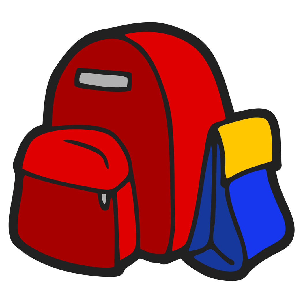 1050x1050 Bag Clipart Backpack Pencil And In Color Bookbag