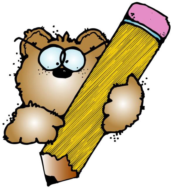 587x640 Pencil Cliparts Bear Free Download Clip Art Free Clip Art