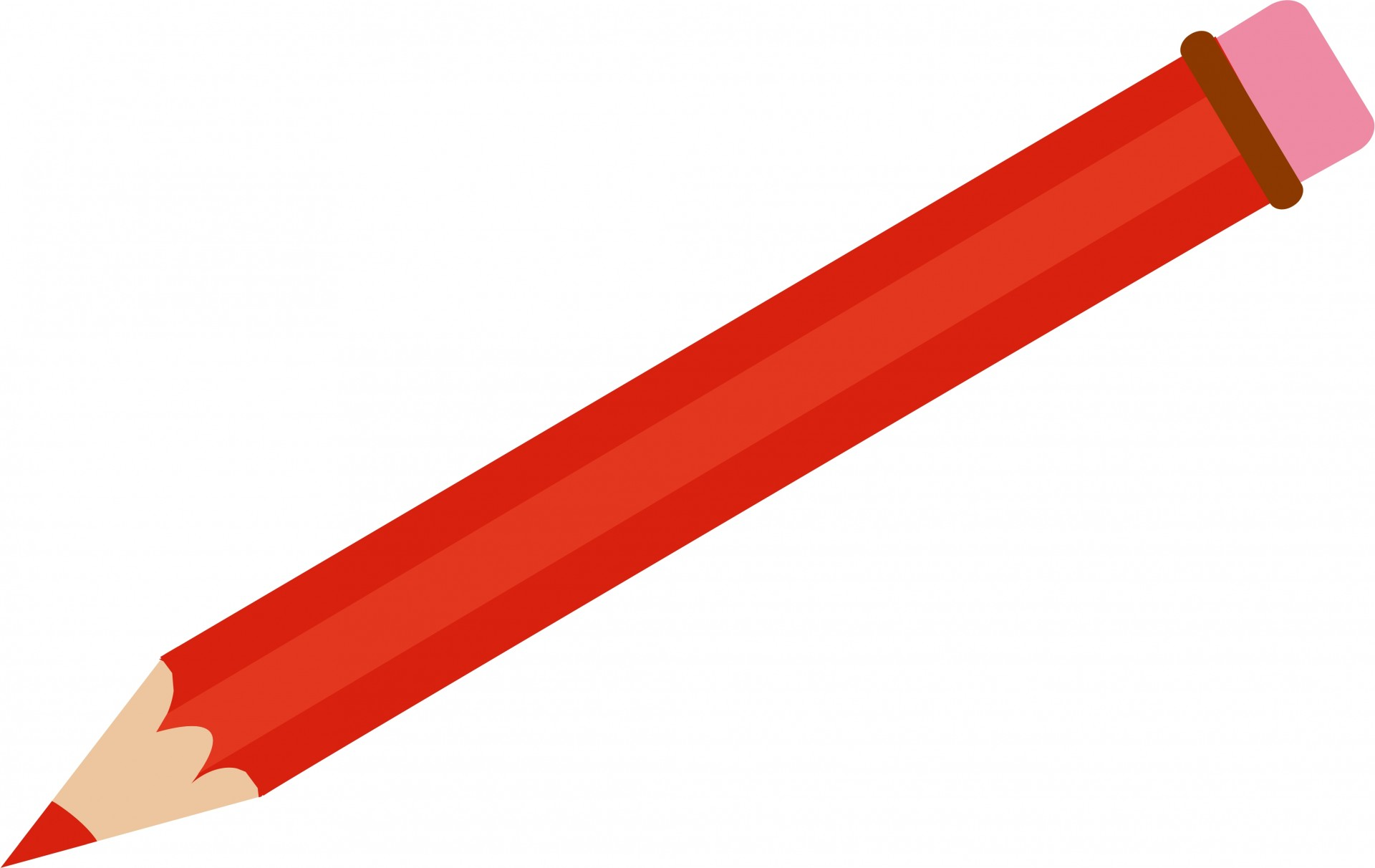 1920x1212 Red Pencil Clipart Free Stock Photo