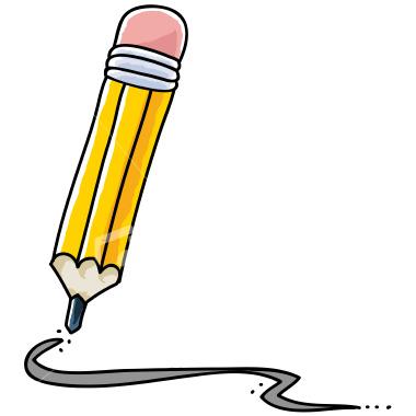 380x380 Pencil Writing Clip Art 256387