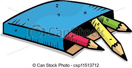 450x232 Color Pencil Vector Clip Art