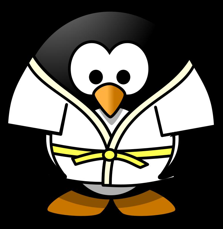 780x800 Free Clip Art Judo Penguin By Osotogari