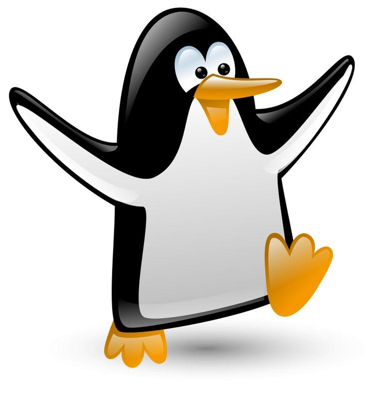 736x788 King Penguin Clipart