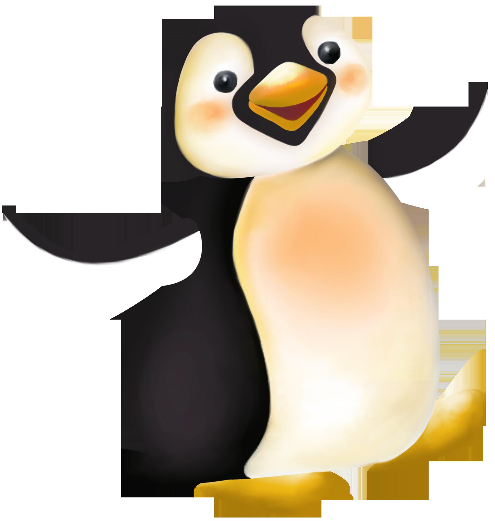 1700x1790 Large Penguin Cartoon Png Clipart Penguins